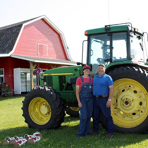 Meet Blaine and Leona Staples, The Jungle Farm u-pick strawberries, pumpkins, fall festival in Red Deer, Alberta